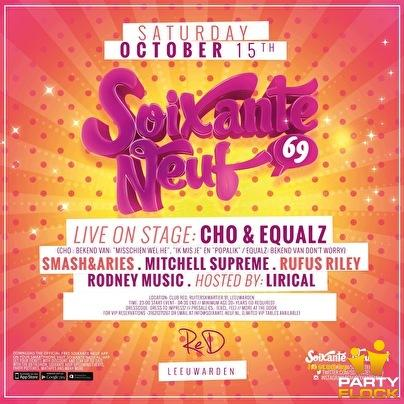 Win tickets voor Soixante Neuf met Cho en The Equalz
